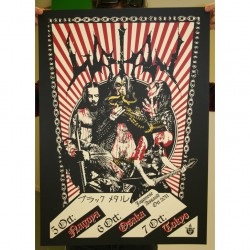 Watain - Part 5 Of 10 Of The Watain Poster Series - Screenprint